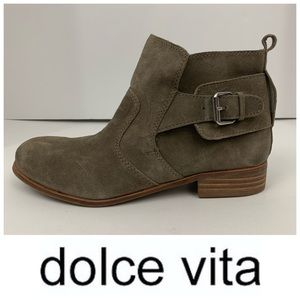 DV by Dolce Vita Suede Ankle Booties